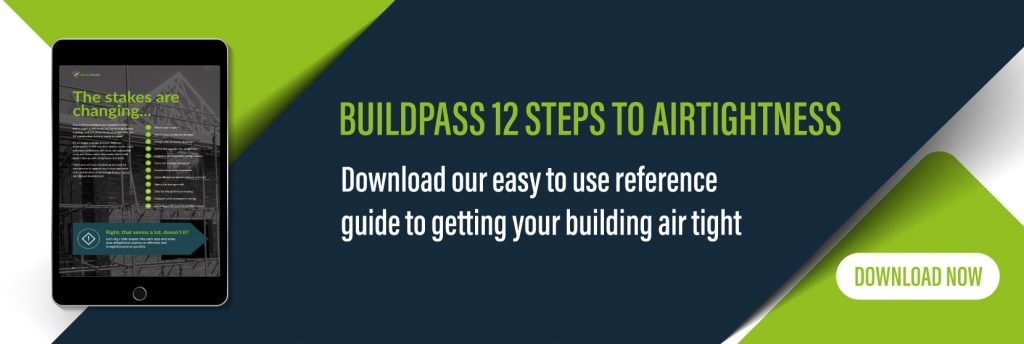 Download our 12 steps to airtightness